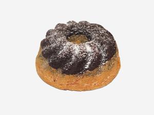 Babka piaskowa wypiekana wg receptury babci Gosi, połączenie 3 ciast: jasnego, jasnego z makiem oraz ciemnego